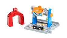 BRIO Smart Tech Lift and Load Crane 33827 Automated Extra for Wooden Railway Set | 33827