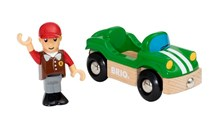 BRIO Sports Car 33937 Extra Vehicle for Wooden Railway Set | 33937