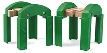 BRIO Stacking Track Supports 33253 Wooden Railway Bridge Accessory | 33253
