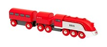 BRIO Streamline Train 33557 for Wooden Railway | 33557,Streamline Train