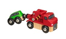BRIO Tow Truck 33528 Extra Vehicle for Wooden Railway Set | 33528
