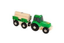 BRIO Tractor with Load 33799 for Wooden Train Set | 33799