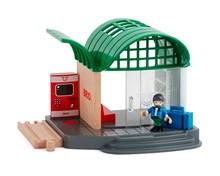 BRIO Train Station 33745 for Wooden Train Set | 33745