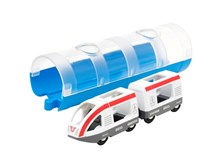 BRIO Travel Train & Tunnel 33890 for Wooden Railway Set | 33890