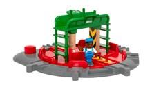 BRIO Turntable & Figure 33476 fir wooden railway | Wooden Toy