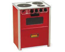 BRIO Wooden Cooker (red) 31355   31355