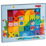 HABA Building blocks Cat, Mouse & Friends  32 piece set 302580