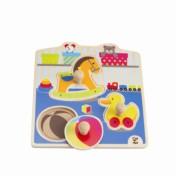 HAPE- My Toys Knob Puzzle E1301 | HAP-E1301