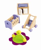 Hape Baby's Room E3459 E3459 | Dolls House Accessory