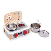 2-in-1 Kitchen & Grill Set Role-play cooking set E3151