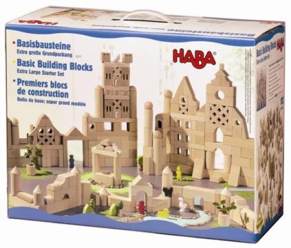 HABA -Extra large Starter Set of 102 Building Blocks 1077