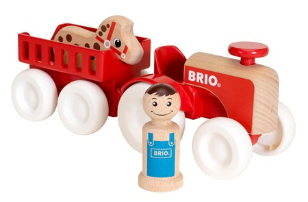 BRIO My Home Town - Farm Tractor Set 30265