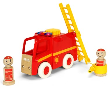 BRIO My Home Town - Light and Sound Fire Truck 30383