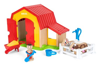 BRIO My Home Town - Farm Set 30398