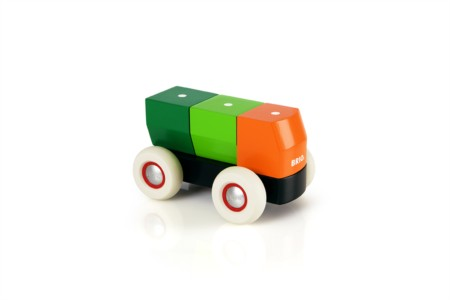 BRIO Magnetic Stacking Truck 30136
