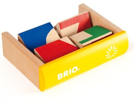 BRIO 30177 Shape Puzzle 30177