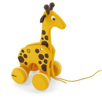 BRIO Pull Along Giraffe 30200