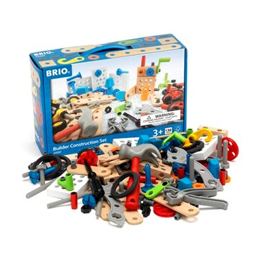 BRIO Builder Construction Set 34587 135 Piece set including Tools