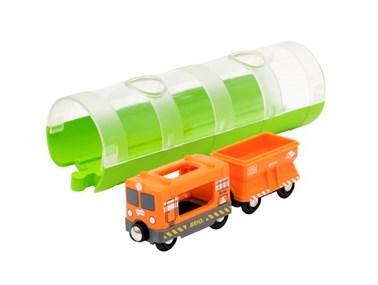 BRIO Cargo Train & Tunnel 33891 for Wooden Railway Set