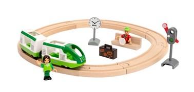 BRIO Circle Train Set 33847 16 Piece Wooden Train Set - Great Value