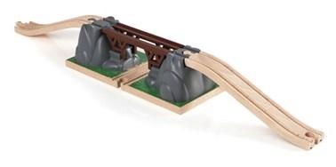 BRIO Collapsing Bridge 33391 for Wooden Railway Set