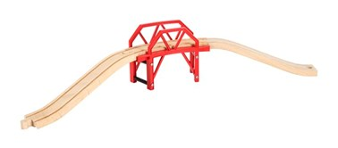 BRIO Curved Bridge 33699 Wooden Railway Accessory