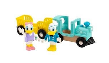 BRIO Dysney Donald & Daisy Duck Train 32260 for Wooden Train Set