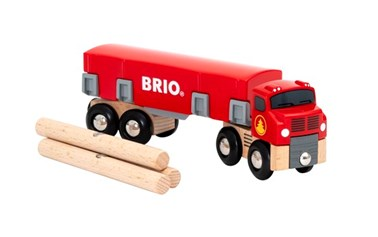 BRIO Lumber Truck 33657 for Wooden Tain Set