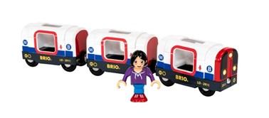 BRIO Tube Metro Train 33867 for Wooden Train Set