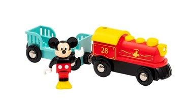 BRIO Mickey Mouse Battery Train 32265 for Wooden Train Set
