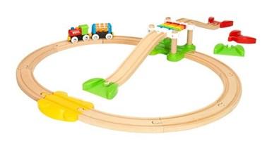 BRIO My First Railway Beginner Pack 33727 Toddler Wooden Train Set