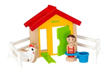 BRIO My Home Town - Farm Hen House 30305