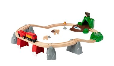 BRIO Nordic Animal Set 33988 26 Piece Wooden Train Set - Great Value