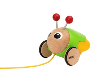 BRIO Pull Along Firefly 30255 Toddler Wooden Toy