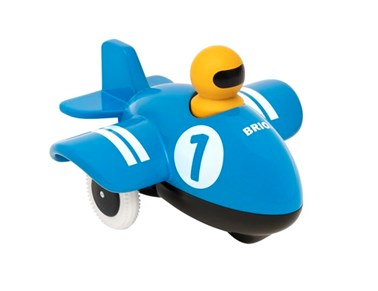 BRIO Push & Go Airplane 302646 Toddler Wooden Toy