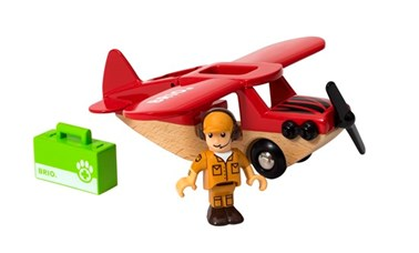 BRIO Safari Airplane 33963 accessory for Wooden Train Set