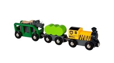 BRIO Safari Rhino Train for Wooden Train Set 33964
