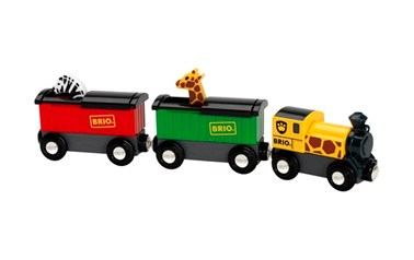 BRIO Safari Train 33722 for Wooden Train Set
