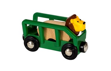 BRIO Safari Lion & Wagon 33966 accessory for Wooden Train Set
