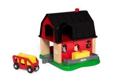 BRIO Smart Tech Farm 33936 Automated Farm with sound for Wooden Railway