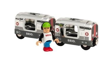 BRIO Special Edition Metro Train 2020 33838 for Wooden Train Set