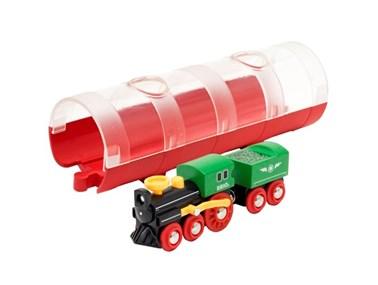 BRIO Steam Train & Tunnel 33892 for Wooden Railway Set