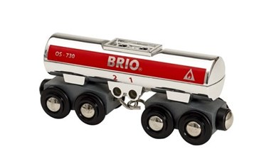 BRIO Tank Wagon 33472 for Wooden Tain Set