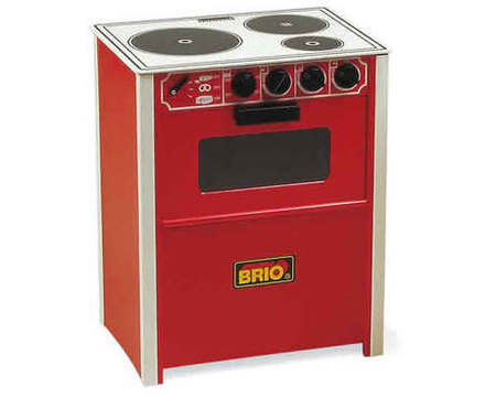 BRIO Wooden Cooker (red) 31355