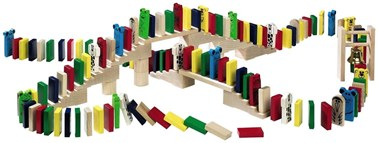 HABA Domino Race Tumbling Domono set with 263 pieces 1172