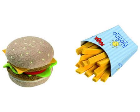 HABA - Play Food Hamburger and French Fries (Fabric) 1475
