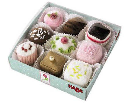 HABA - Play Food Petit Fours Set of 9 3808