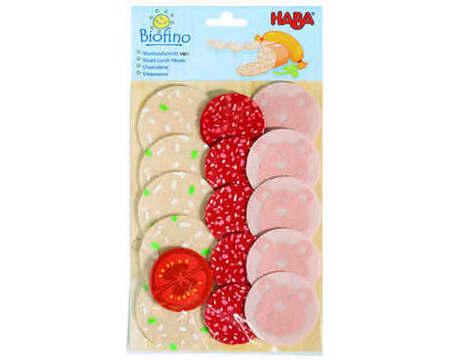 HABA - Play Food Sliced Luncheon Meats (Fabric) 1461
