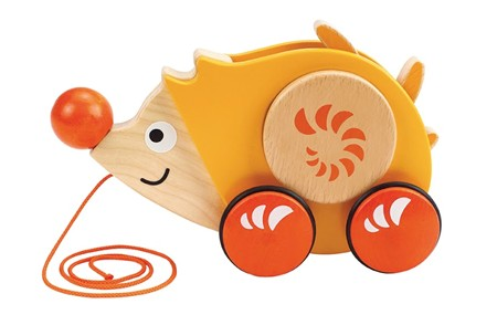 HAPE Walk-Along Hedgehog E0350