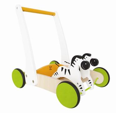 HAPE Galloping Zebra Cart E0373
